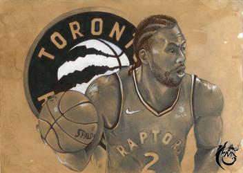 Kawhi Leonard | Toronto Raptors by momonoartstudio