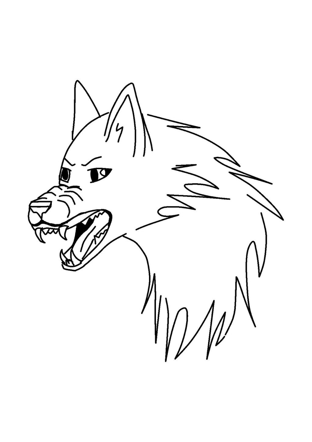 mad wolf drawings - photo #17
