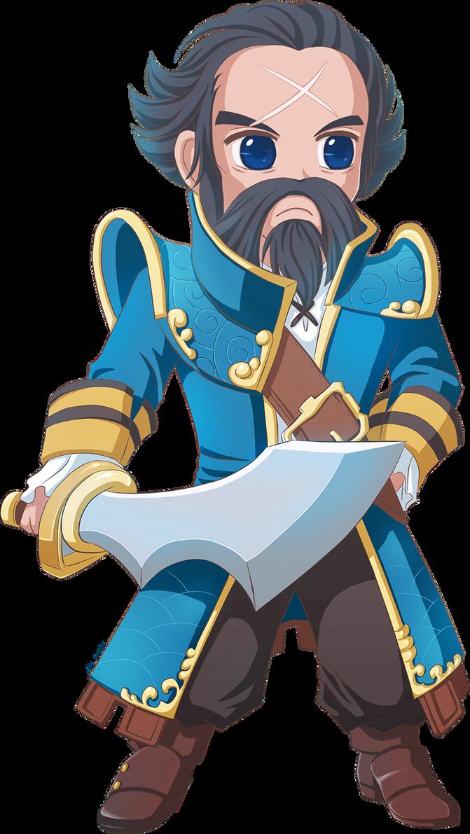 Admiral Kunkka by MsLeiLei on DeviantArt