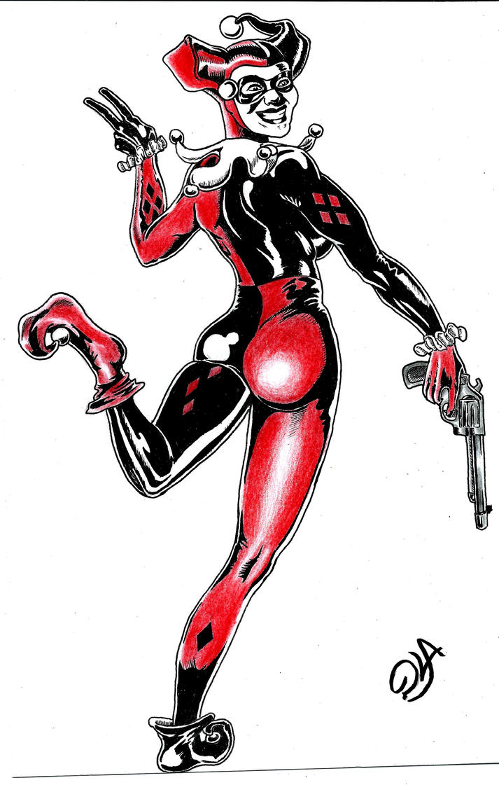 HarleyQuinn by DustinLArt