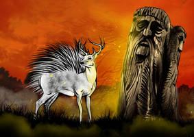 Magic Deer by benSatori