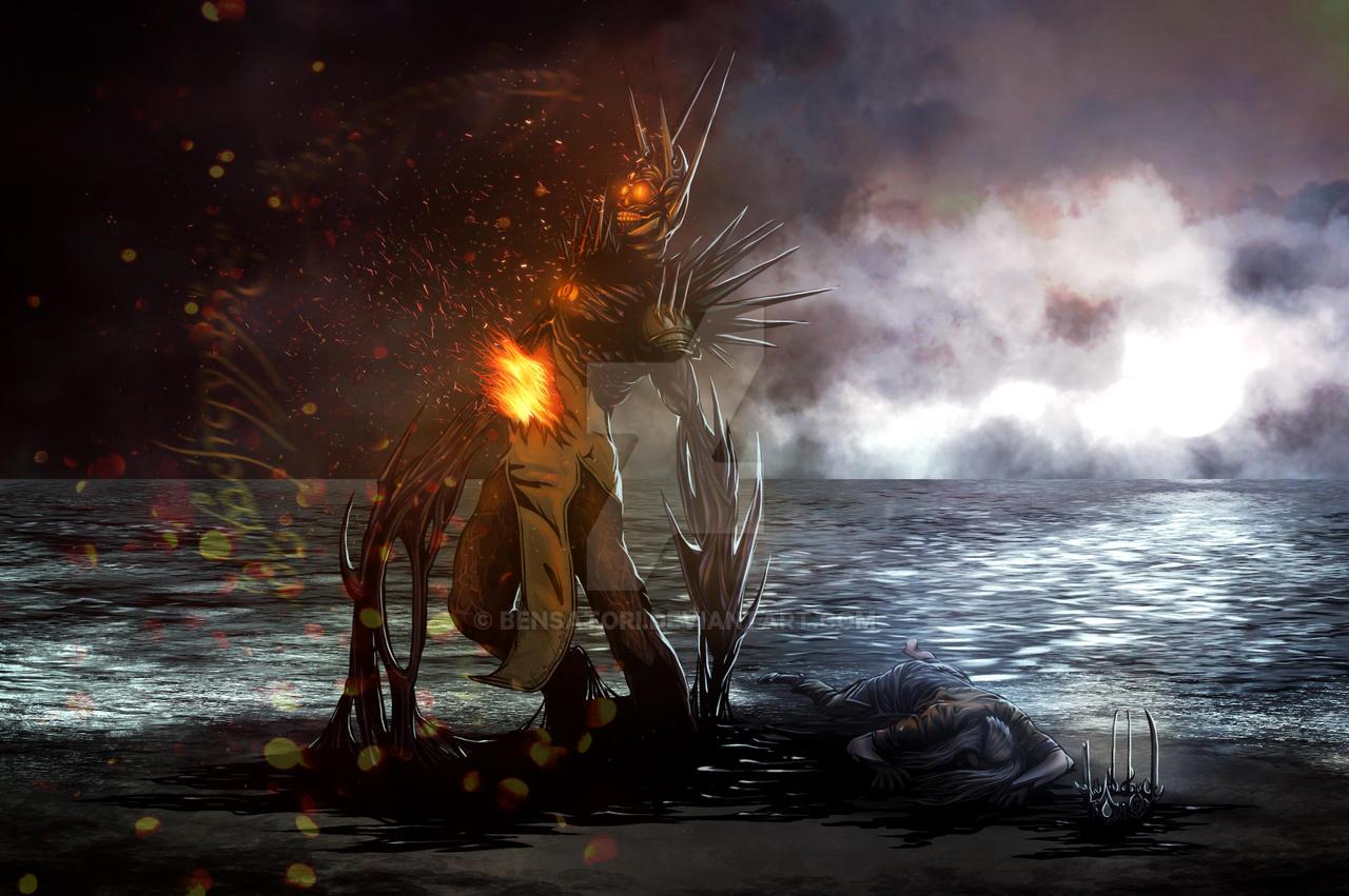 Sauron ReBirth by benSatori