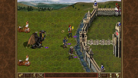 Witcher of might and magic III - Dragon Attack W2