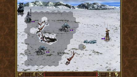 Witcher of might and magic III - Ciri vs Caranthir