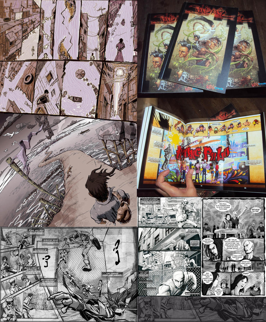 Media Tie In Graphic Novels: PINTAKASI GRAPHIC NOVEL IN PRINT! By Creativemediaph On