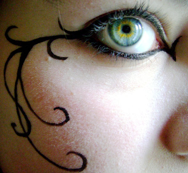 Gothic MakeUp .:02:. by Elyriah
