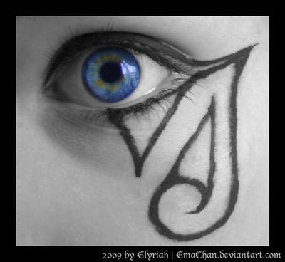 Gothic makeup 07 by elyriah on deviantart for Tattoo shops in elyria ohio