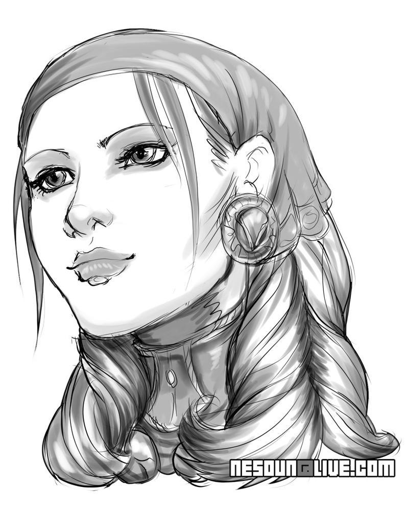 DA2_Isabela Portrait 2 by nesoun