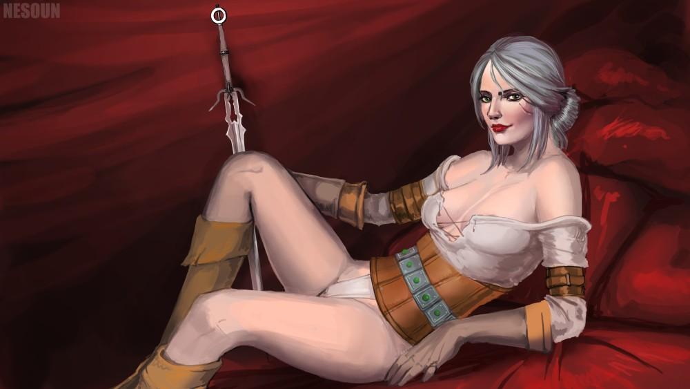witcher 3 - Cirilla Fiona by nesoun