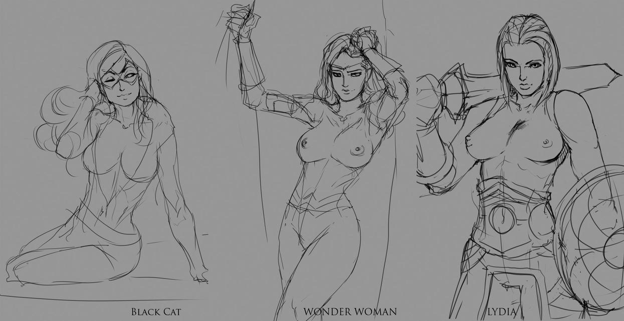 March's Sketches [vote to promote] by nesoun