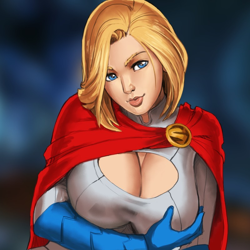 Power Girl by nesoun