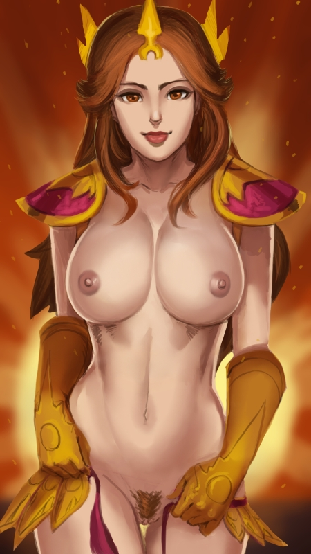 Leona Wallpaper nude by nesoun