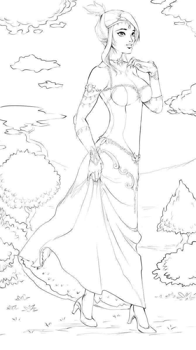 Princess Wilykit by nesoun