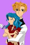 Sailor Moon - Haruka + Michiru by Levicorpus