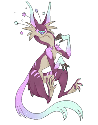 Pixel Pagedoll of Pollux!