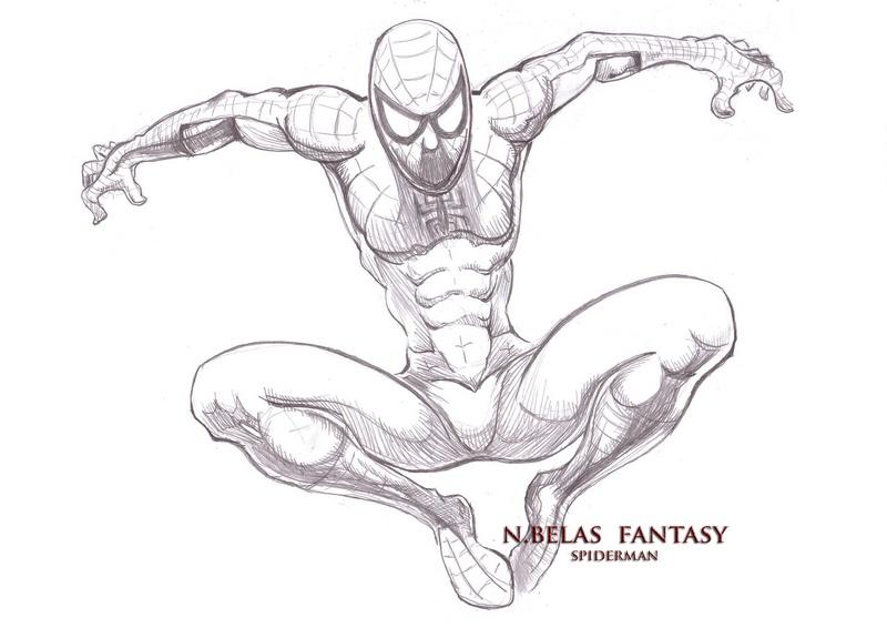 Spiderman by BelasFantasy