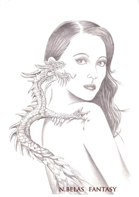 Dragon in my soul Zhang Ziyi by BelasFantasy
