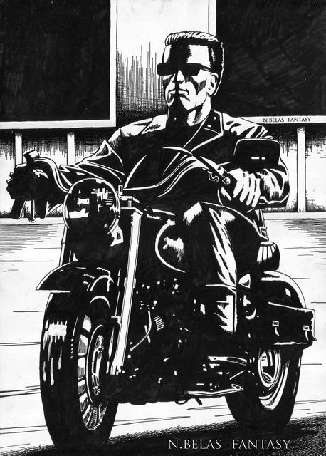 Terminator Arnold Schwarzenegger -  I'll be back by BelasFantasy
