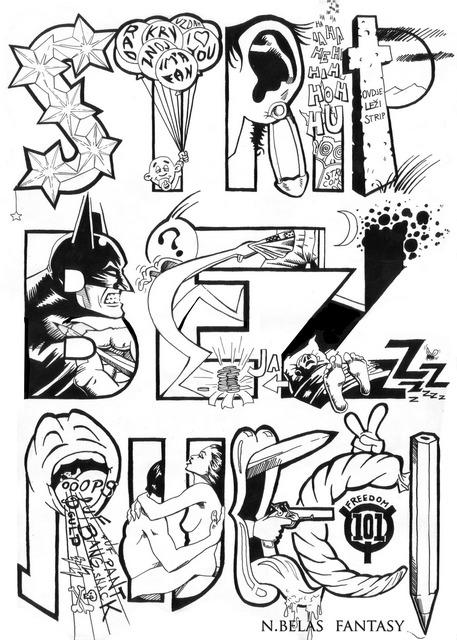 Comic without  words - Strip bez rijeci by BelasFantasy