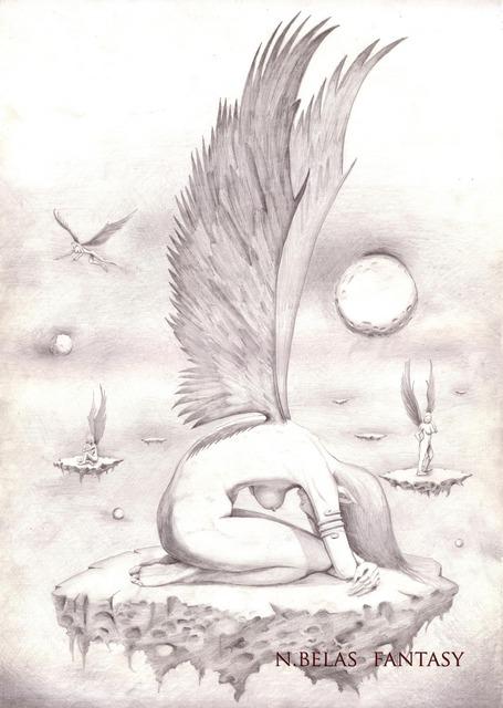 Utopia Ray number 862 - Angel who prays by BelasFantasy