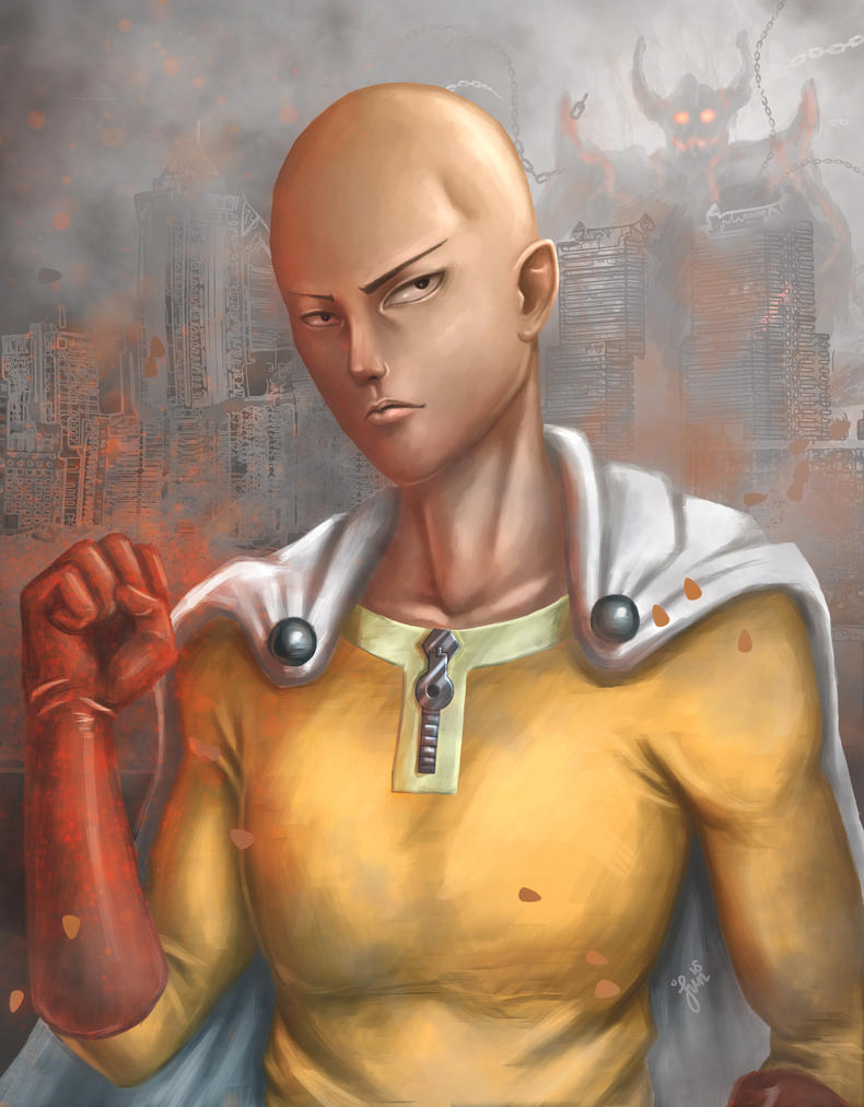 One Punch Man by Kaito-ken