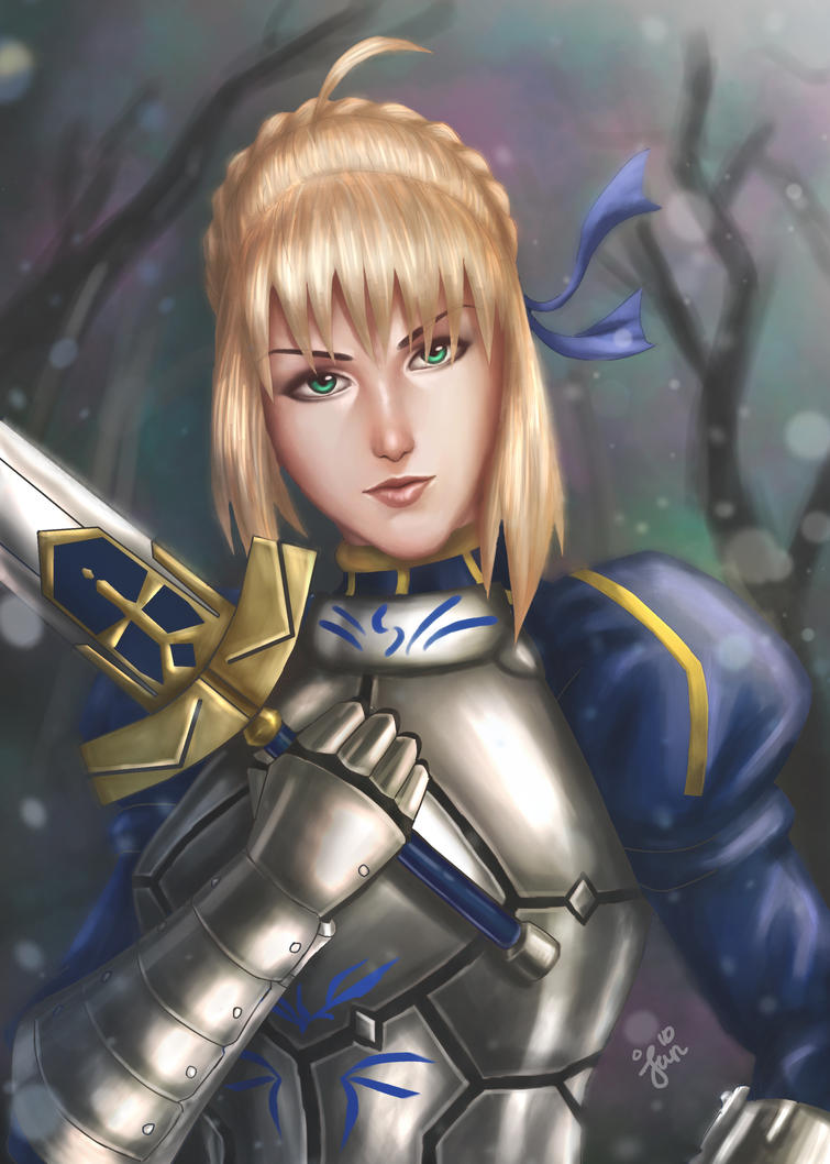 Saber-Fate Stay Night by Kaito-ken