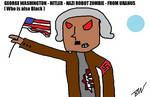 George Washington Hitler Nazi Robot Zombie