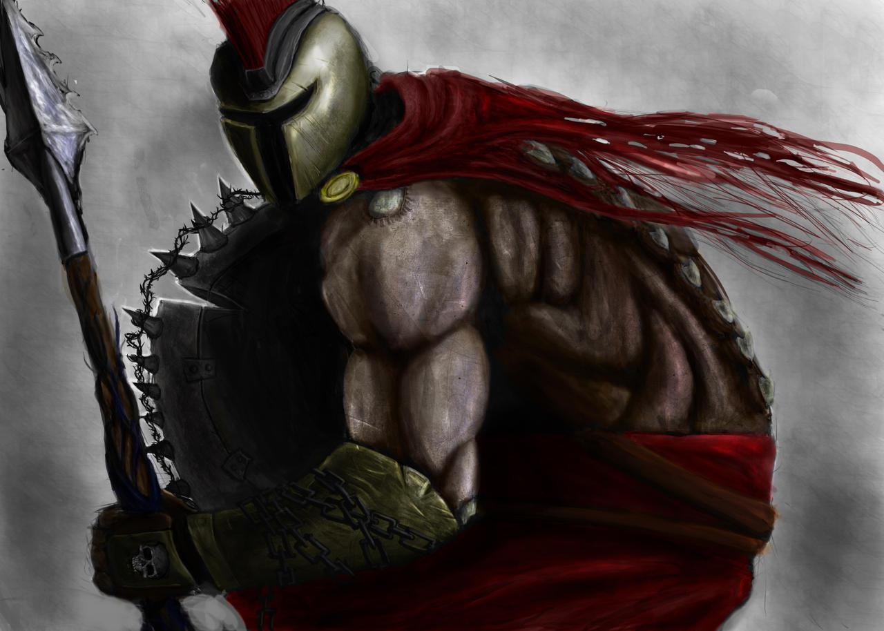 League Of Legends Pantheon By Blavit
