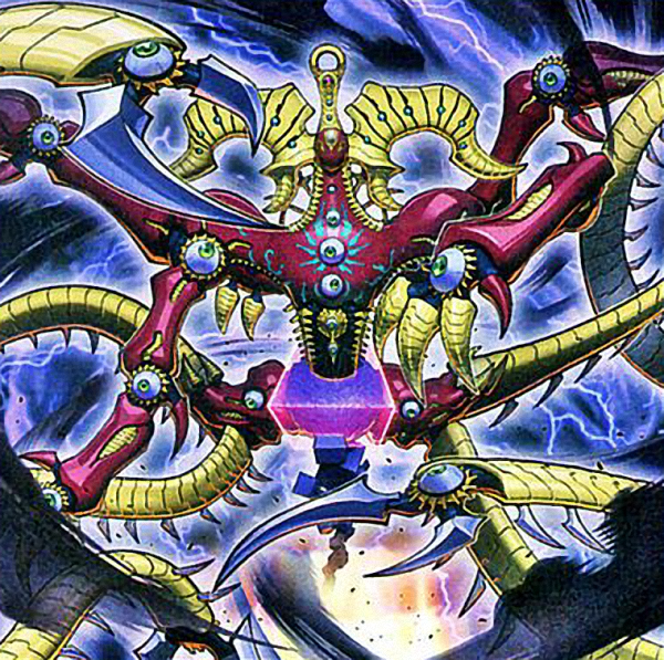 Crimson Nova Trinity, the Darkside Cubic Deity by Youssef-Mamdouh