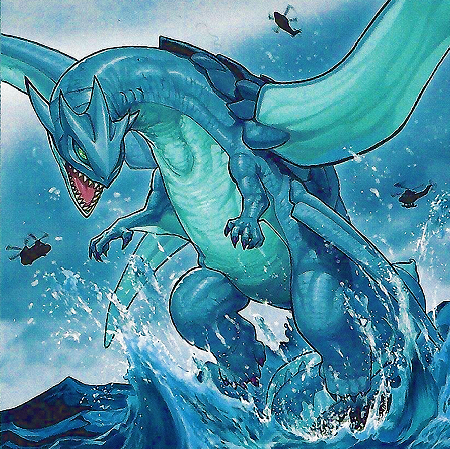 Gameciel, the Sea Turtle Kaiju by Youssef-Mamdouh