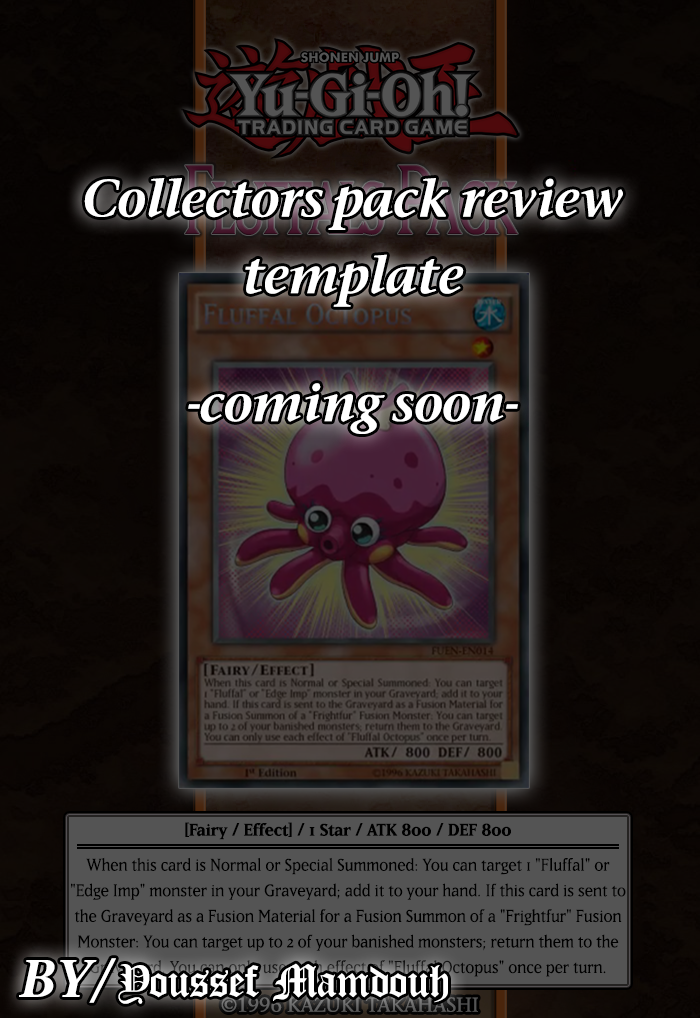 Collectors Pack Template by Youssef-Mamdouh