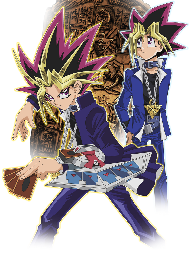 Yami and Yugi - render by Youssef-Mamdouh