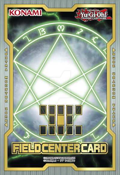 The Seal of Orichalcos Field Center Card by Youssef-Mamdouh