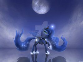 Mlp  Princess Luna By Awsdemlp-d5of81p by almasofia