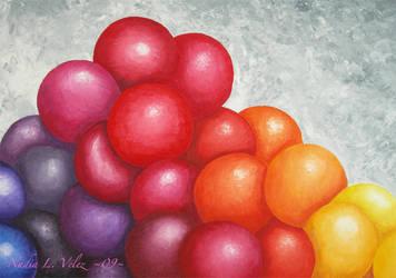 Multicolored Speres