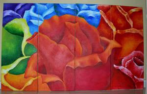 Roses by fieryfae