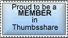 Thumbsshare Member Stamp by A-Tea-Aholic