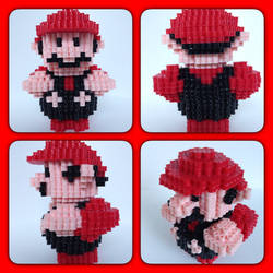 Super Mario by eightbitbert