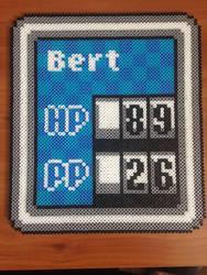 Earthbound Battle Stats by eightbitbert