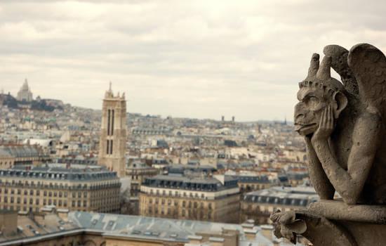 Gargouille from Notre Dame