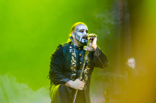 Attila Dorn from Powerwolf