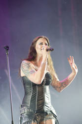 Floor Jansen from Nightwish 3 by shulgasergey