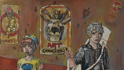 The art challenge  by UltraEs-Pii