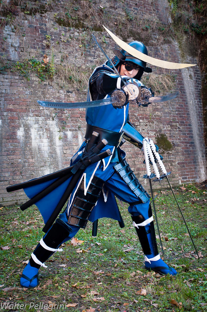 Date Masamune - Six Sword by arch777