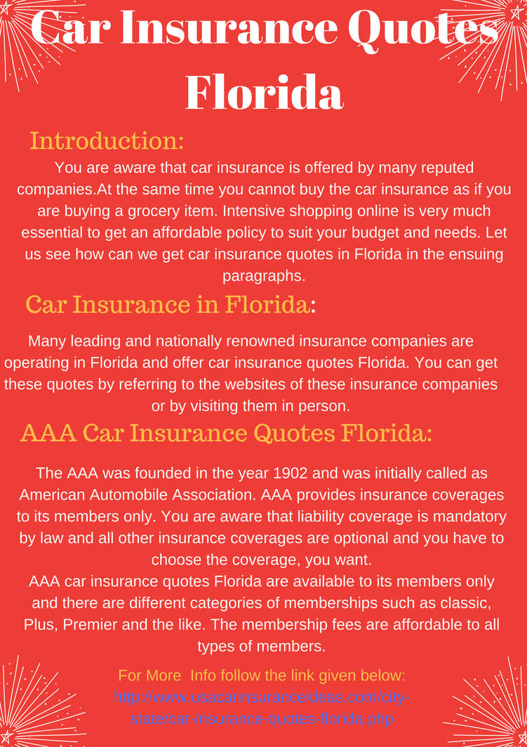 Car Insurance Quotes Florida by justinehenderson on DeviantArt
