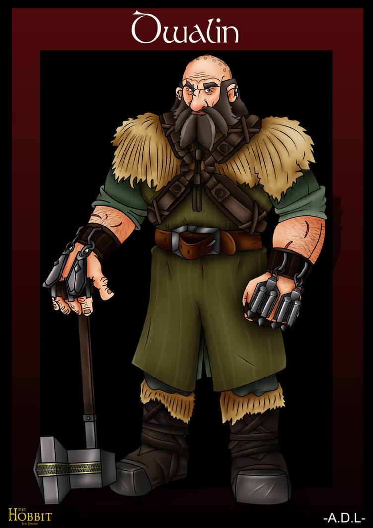 Dwalin in cartoon by adlpictures
