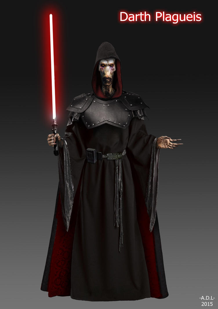 Darth Plagueis by adlpictures