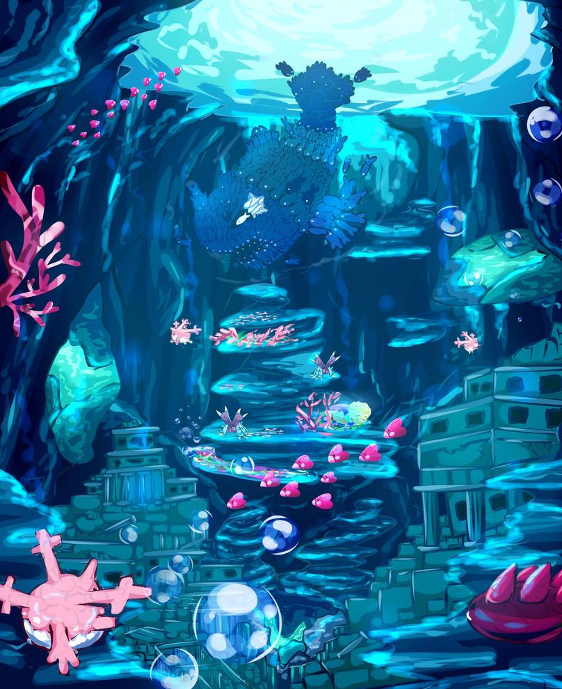 Ocean Ruin by Lunarmorte