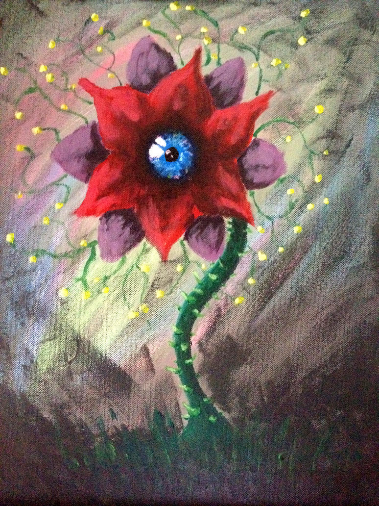 Peeper Surreal Flower By Peutoux On Deviantart