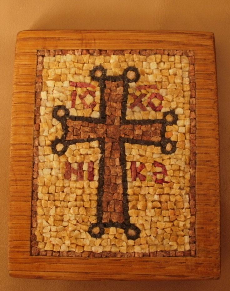 mosaic by calugarul